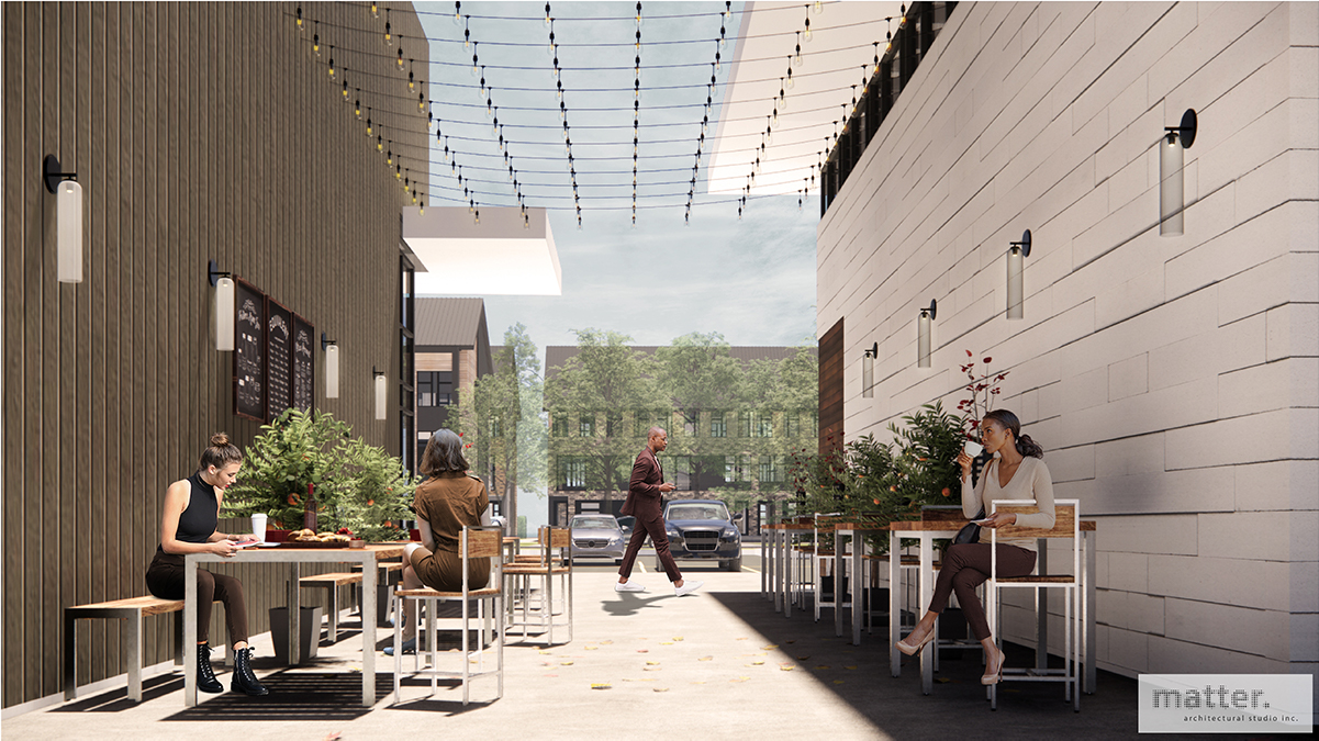 COMMERCIAL 04 - SHARED PATIO SPACE
